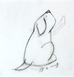 Cubism (Study VIII) by Doug Hyde -  sized 5x5 inches. Available from Whitewall Galleries
